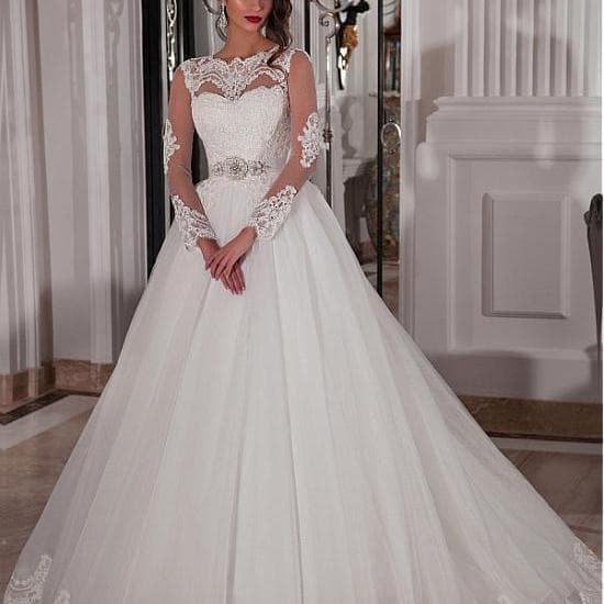 ball gown wedding dress image