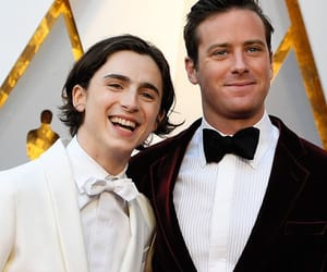 oscar, armie hammer, and timothee chalamet image