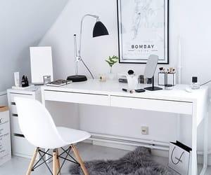 white, decor, and interior image