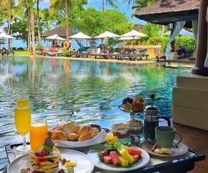 summer, bali, and breakfast image