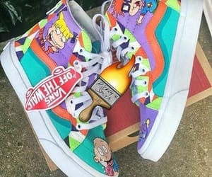 vans, rugrats, and kicks image