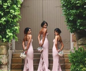 blush, brides, and mauve image