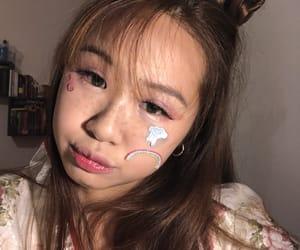 asian girl, japanese girl, and lenses image