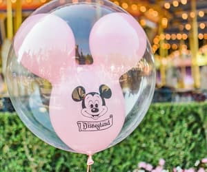 disney, balloon, and disneyland image