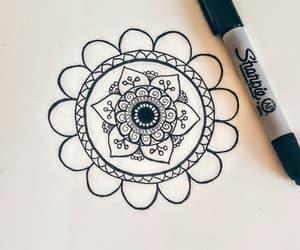mandala and drawing image