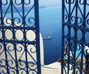 Greece, beach, and blue image