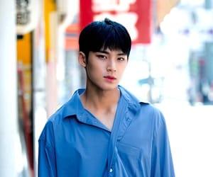 17, blue, and mingyu image