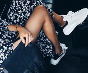 style, fashion, and sneakers image