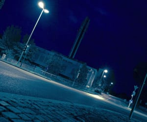 blue, night, and street photography image