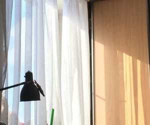 curtain, sun, and ☀ image