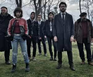 la casa de papel, berlin, and profesor image