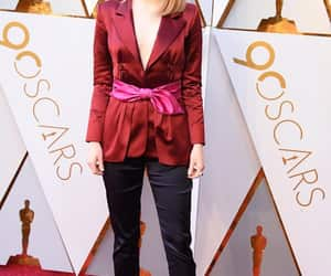 emma stone, ginger, and red carpet image