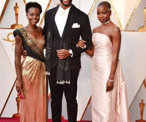 black panther, oscars, and red carpet image