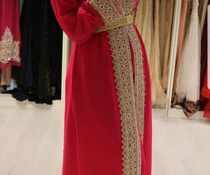arabic, caftan, and moroccan dress image