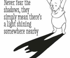 life, shadows, and winnie the pooh image