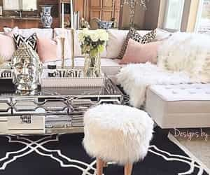 glamour and home decor image