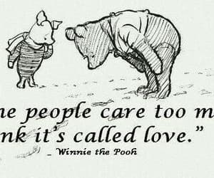 people, piglet, and winnie the pooh image