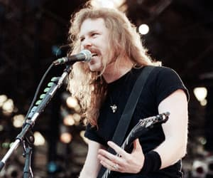 heavy metal, James Hetfield, and music image