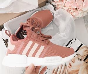 adidas, flowers, and inspirational image