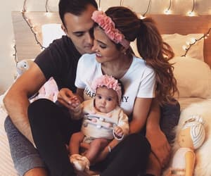 baby, couple, and goals image