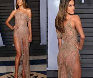 alessandra ambrosio, party, and dress image