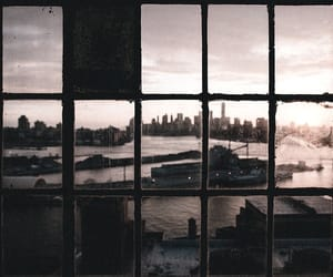 city, window, and travel image