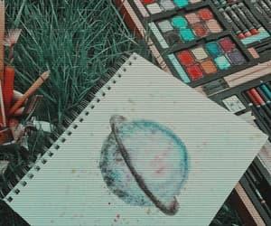 draw, saturn, and tumblr image