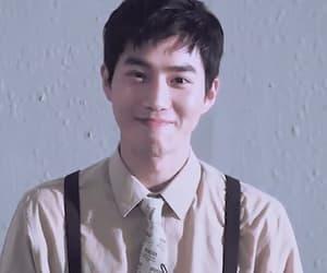 exo, gif, and junmyeon image