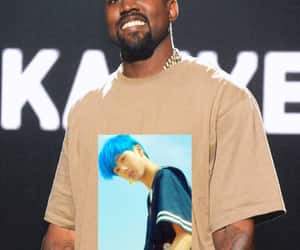 funny, kanye west, and kpop image