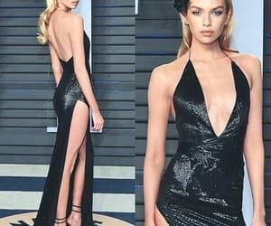 dress, model, and stella maxwell image