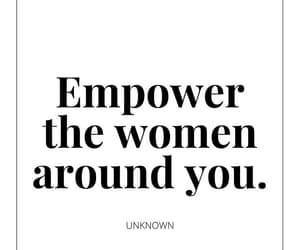empowerment, motivation, and girl power image