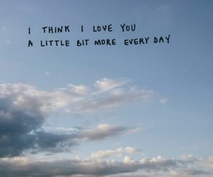 quotes, sky, and love image