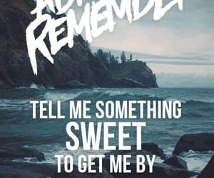 a day to remember, adtr, and if it means alot to you image