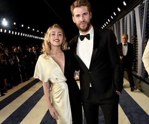miley cyrus, liam hemsworth, and celebrities image