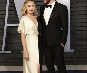 celebrities, miley cyrus, and liam hemsworth image