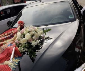 bloemen, love, and car image