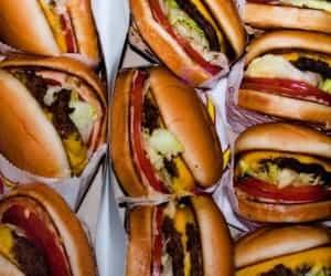 food, hamburguer, and Mc image
