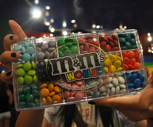 m&m's, chocolate, and m&m image