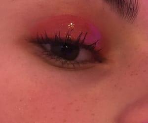 girls, makeup, and pink image