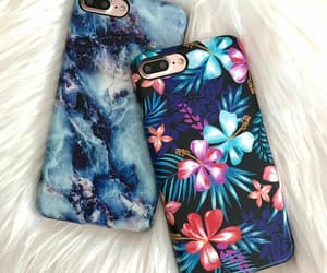 apple, flowers, and case image