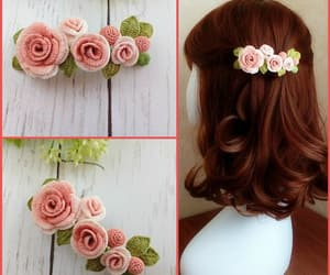 crochet, etsy, and hair accessories image
