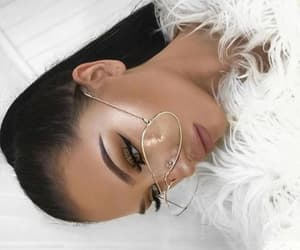 beauty, glam, and eye makeup image