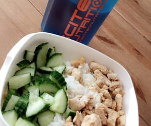 dinner, fitness, and health image
