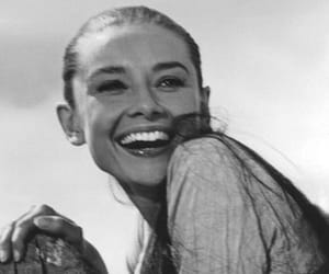 smile, audrey hepburn, and vintage image