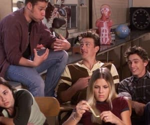 90s, freaks and geeks, and tv show image