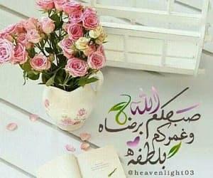 يسعد صباحكم and صباح الرضا image