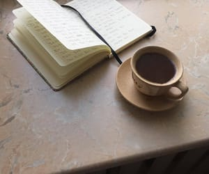 black, books, and coffee image