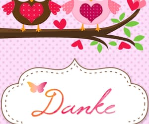 eule, pink, and danke image