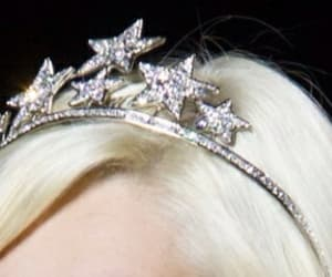 stars, blonde, and crown image