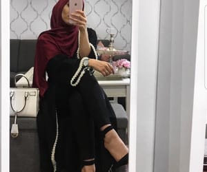 fashion, stylé, and hijab image